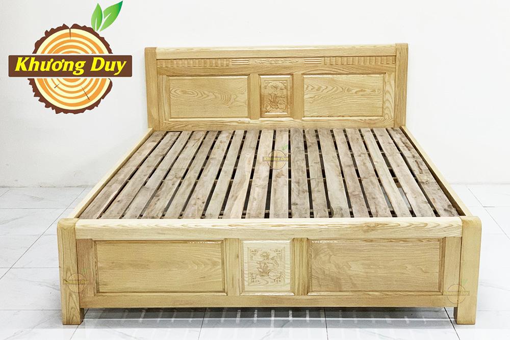 Giường ngủ gỗ Sồi Nga đẹp