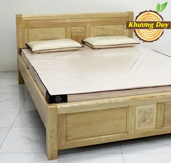 giường giá rẻ gỗ sồi