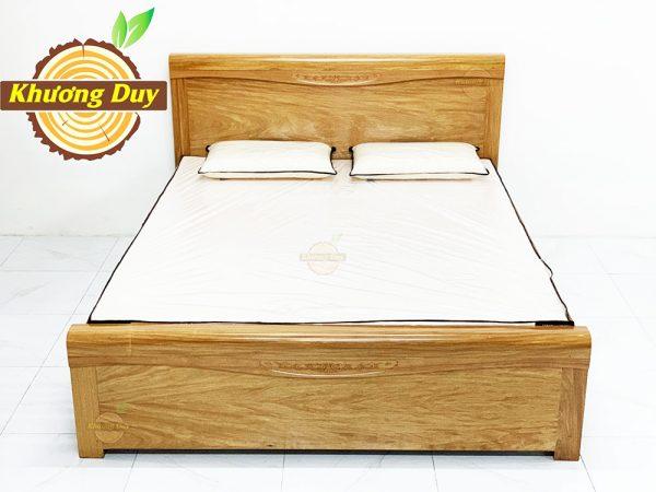 Giường gỗ Đinh Hương 1m6