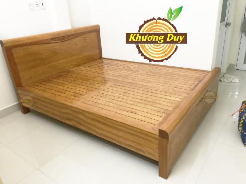 Giường gỗ Đinh Hương đẹp