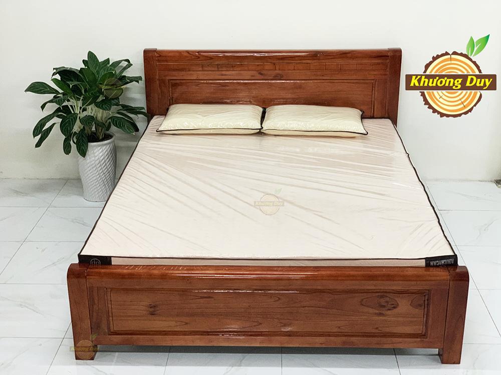 Giường gỗ Xoan Đào 1m6 đẹp