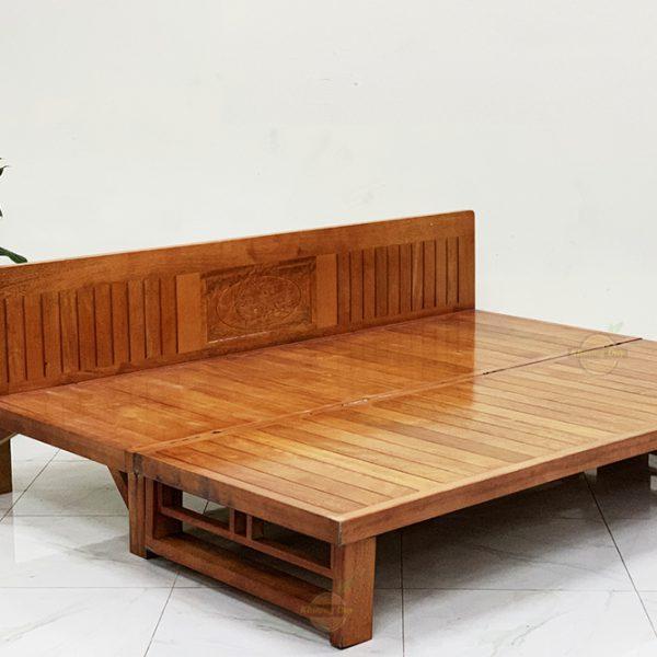 Sofa giường gỗ gấp gọn