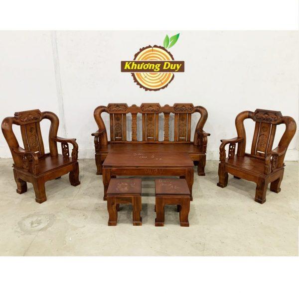 sofa gỗ giá rẻ hcm