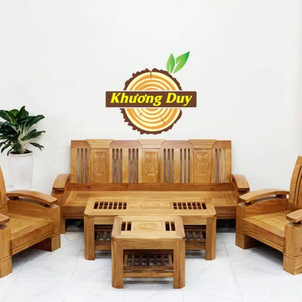 bộ sofa gỗ gõ đỏ