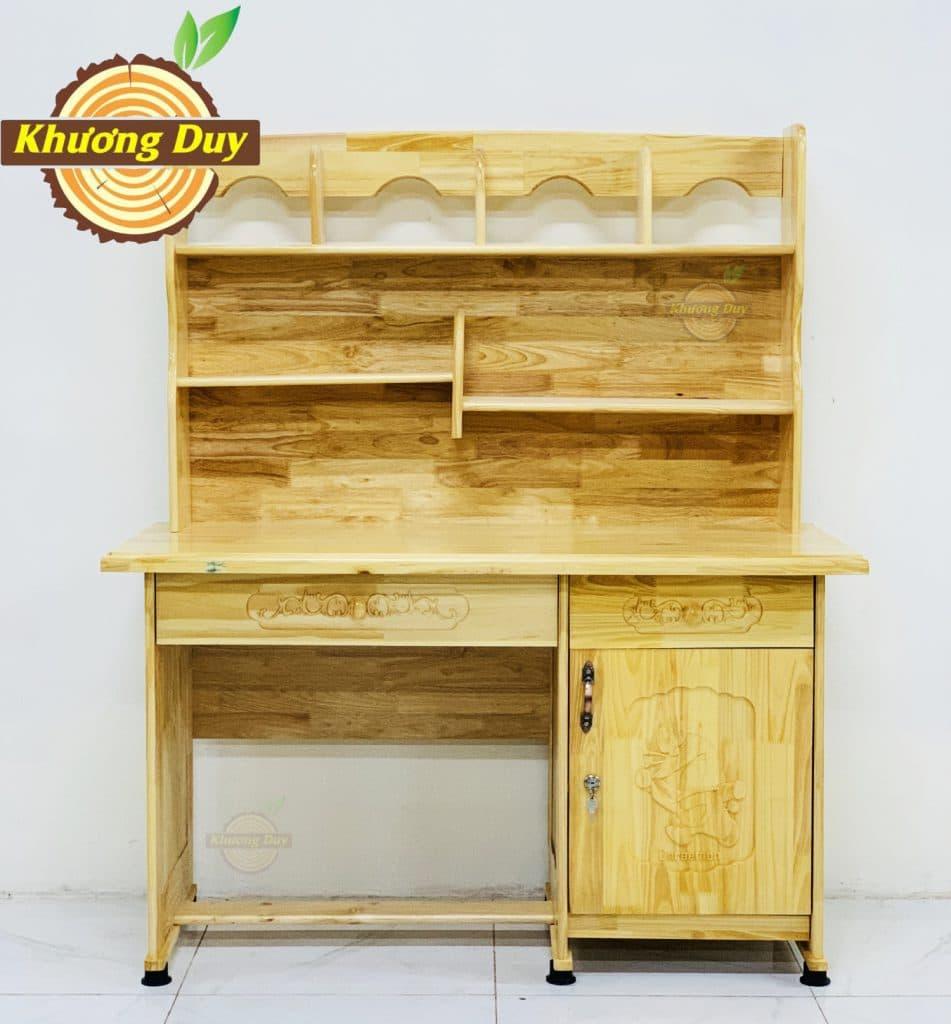 bàn học sinh gỗ tự nhiên