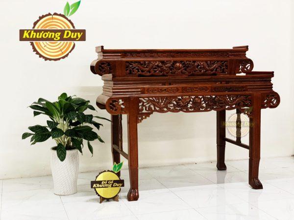 bàn thờ gỗ căm xe
