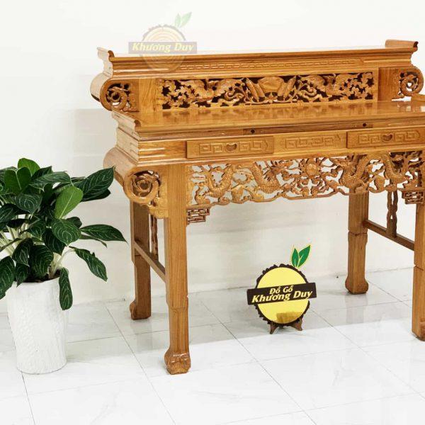 mẫu bàn thờ gỗ gõ đỏ giá tốt