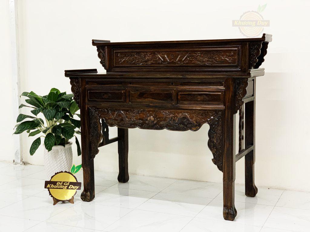 bàn thờ gỗ muỗng giá tốt tại tphcm