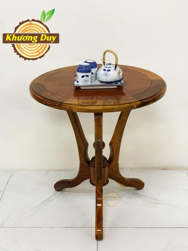 bàn trà gỗ tràm 2 ghế