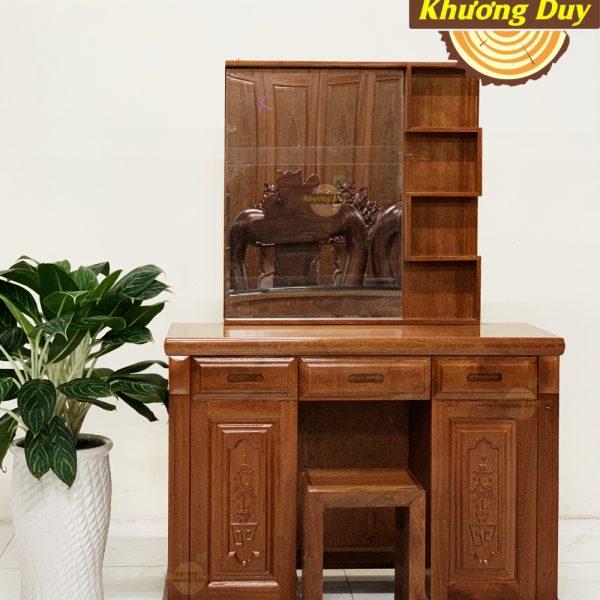 bàn trang điểm gỗ 1m xoan đào