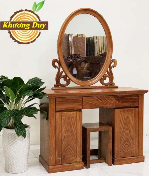 mẫu bàn trang điểm gỗ cẩm nam phi