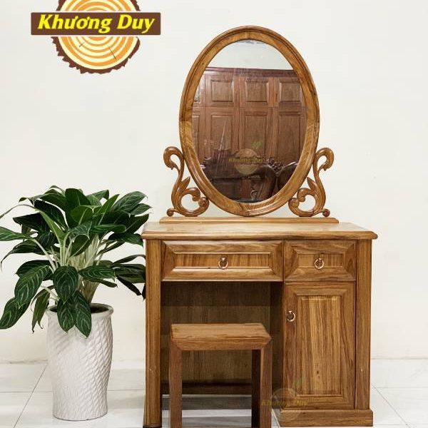 mẫu bàn trang điểm gỗ đẹp