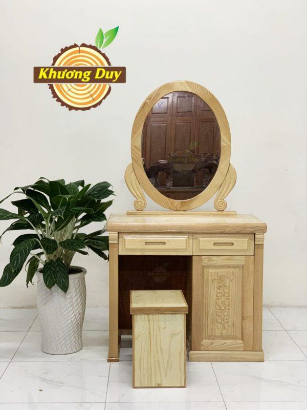bàn trang điểm gỗ sồi giá rẻ
