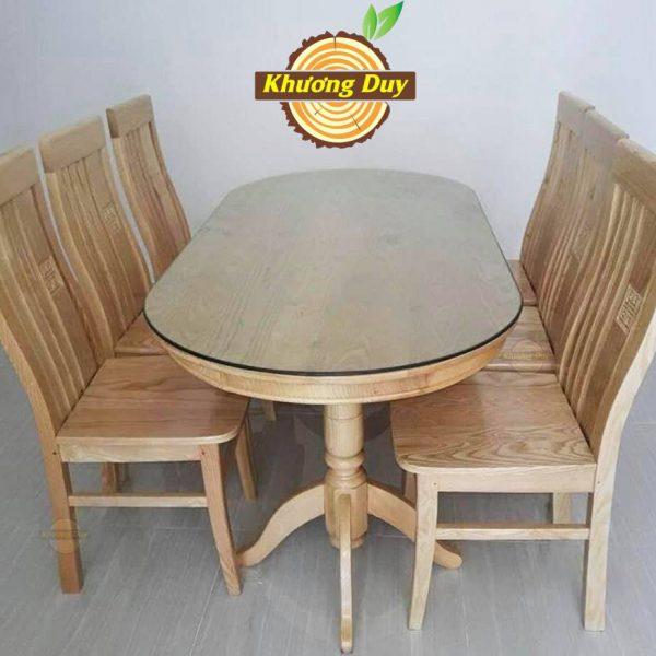 bàn ăn gỗ sồi giá rẻ