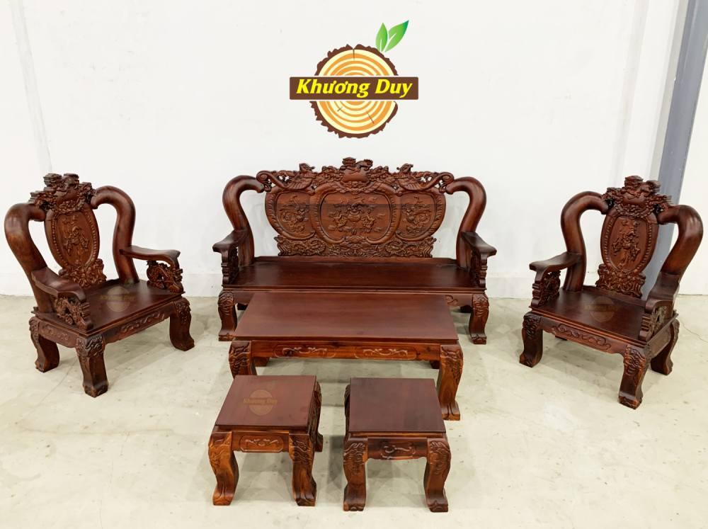 bô sofa gỗ tràm giá rẻ