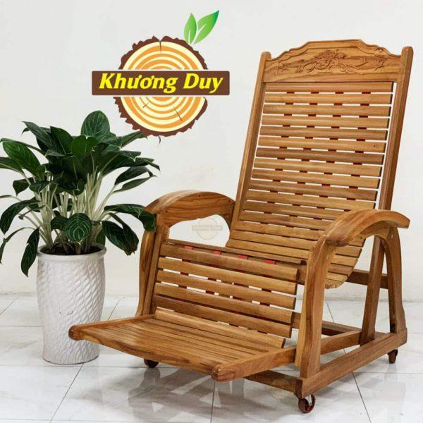 ghế dây gỗ gõ đỏ