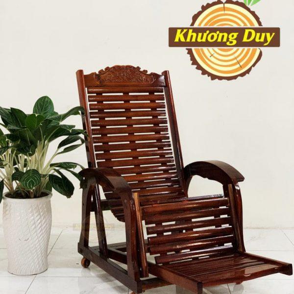 ghế lười gỗ tràm giá rẻ