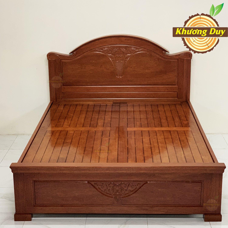 Giường gỗ Căm Xe đẹp, giá rẻ