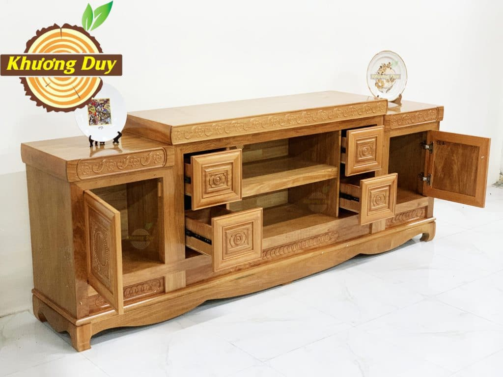 tủ tivi gỗ đinh hương