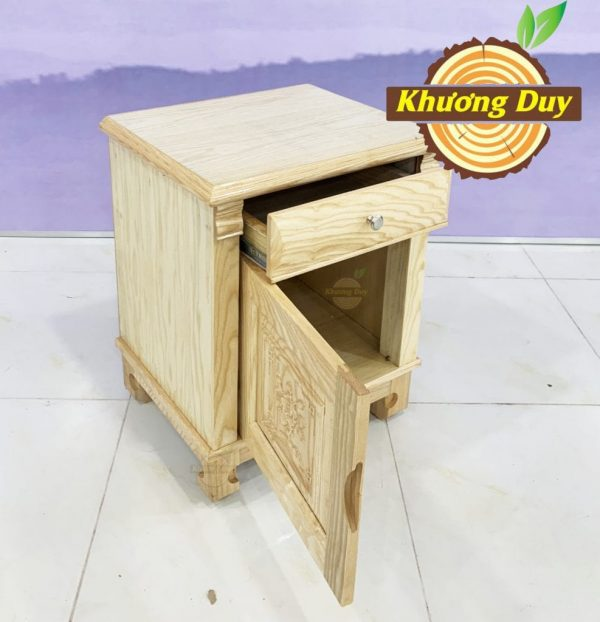 tủ đầu giường gỗ sồi giá rẻ