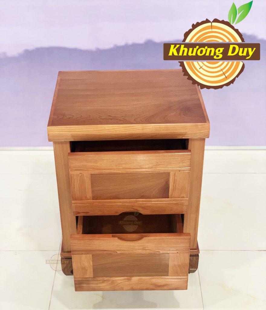tủ gỗ đầu giường xoan đào