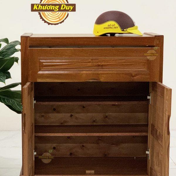 tủ giày gỗ xoan đào giá rẻ