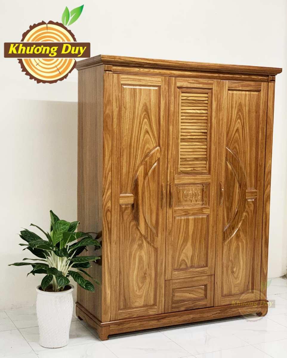 tủ quần áo gỗ 1m6