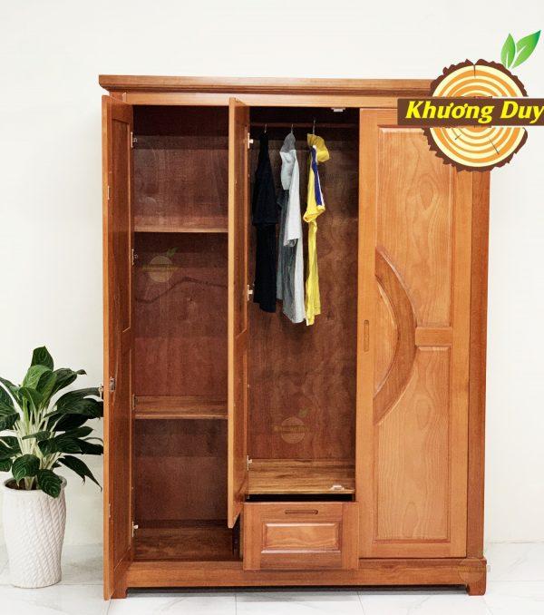 tủ quần áo gỗ giá rẻ 1m6
