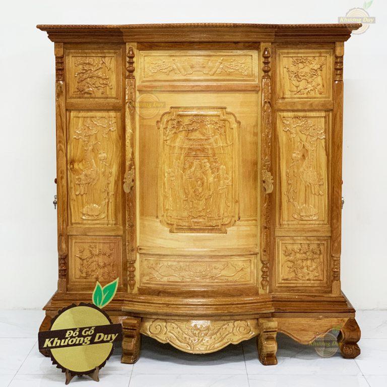 tủ thờ gỗ tự nhiên giá rẻ