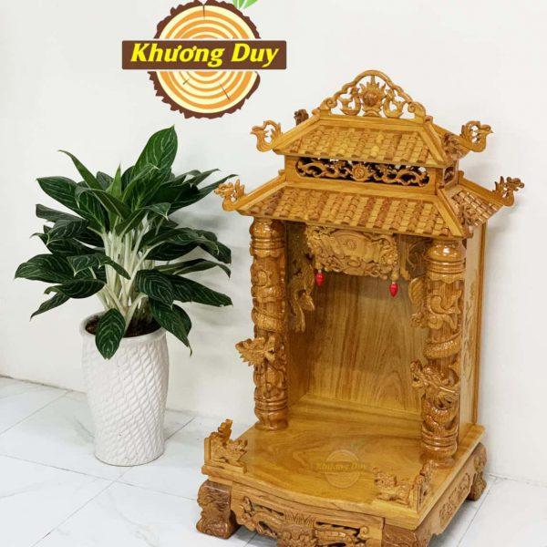 tủ thờ thần tài gỗ gõ