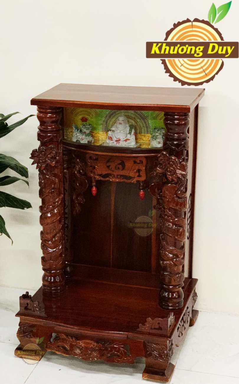tủ thờ thần tài gỗ tràm