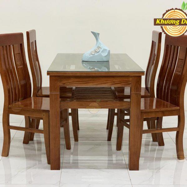 bộ bàn ăn gỗ sồi giá rẻ