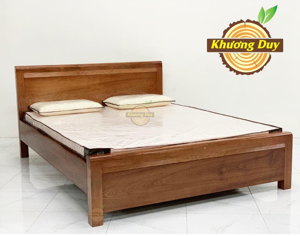 giường gỗ xoan đào giá rẻ