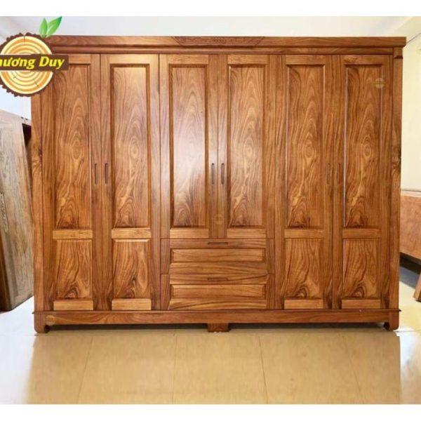 tủ áo quần gỗ hương xám