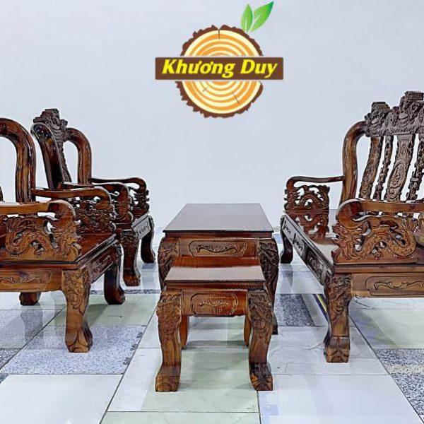 bộ salon gỗ tự nhiên giá rẻ