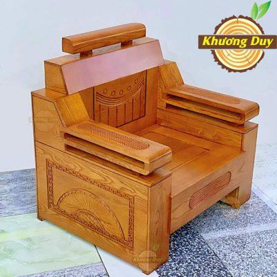 bộ sofa gỗ sồi giá rẻ