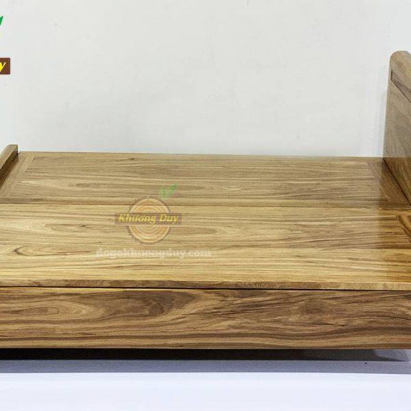 giường gỗ hương xám tự nhiên