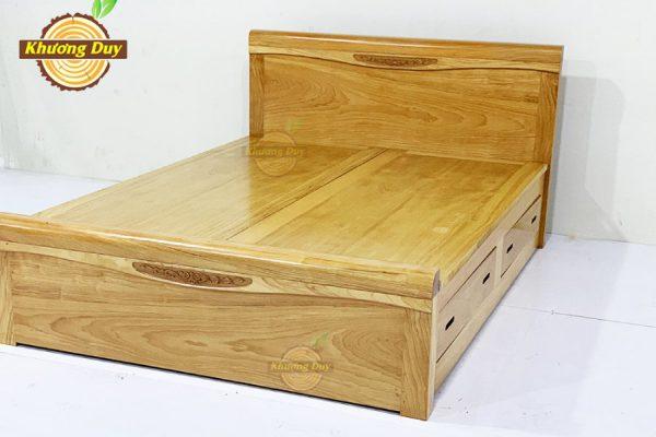 giường gỗ dạt phản cao cấp có ngăn kéo