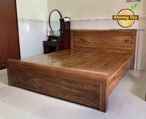 giường ngủ gỗ hương xám