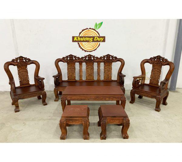salon gỗ phòng khách giá rẻ