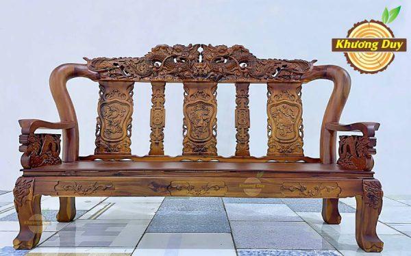 salon gỗ tràm tự nhiên