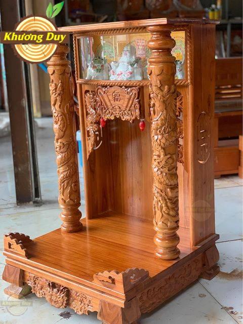 tủ thờ thần tài gỗ giá rẻ
