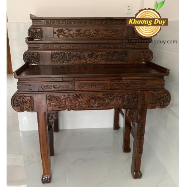 bàn thờ tam cấp gỗ muồng