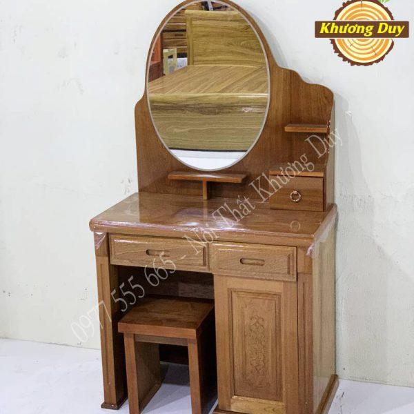 bàn trang điểm gỗ xoan