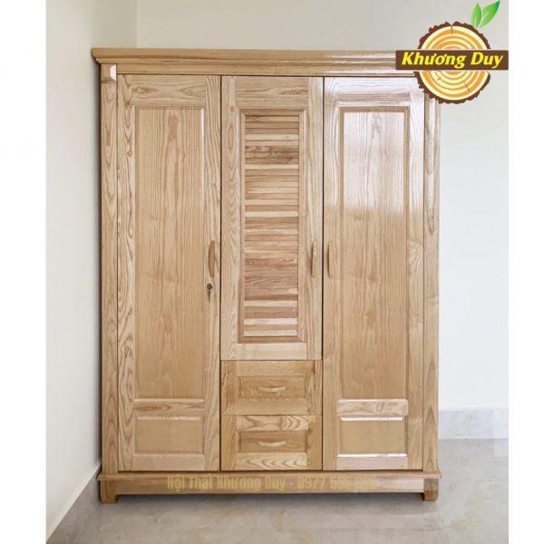 tủ quần áo gỗ sồi 1m6